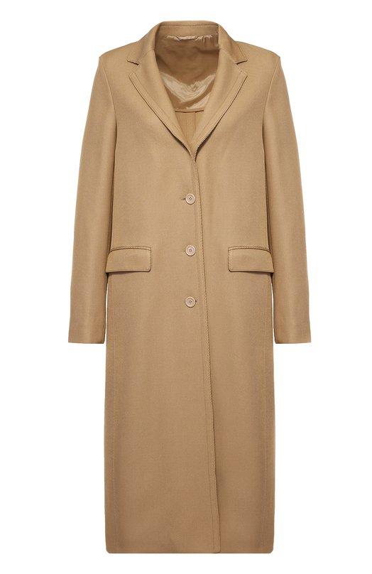 Пальто прямого кроя с узкими лацканами Acne Studios 12R163