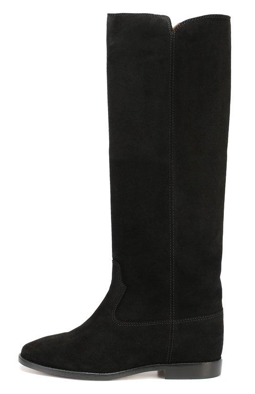 Кожаные сапоги с широким голенищем Isabel Marant Etoile 00M003S/CLEAVE