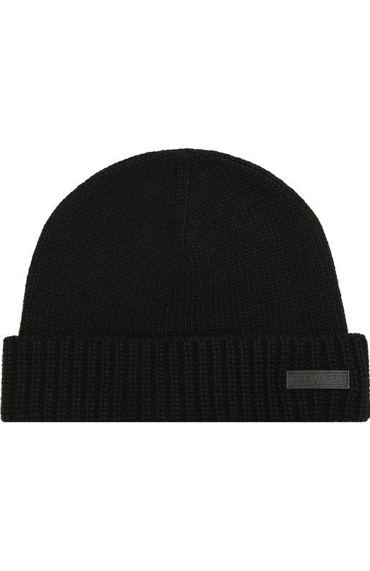 Вязаная шапка с отворотом Dsquared2 DQ01T1/D00LL