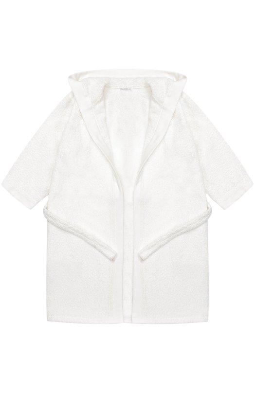 Хлопковый халат с поясом и капюшоном La Perla 54550/2A-6A/2A-8A