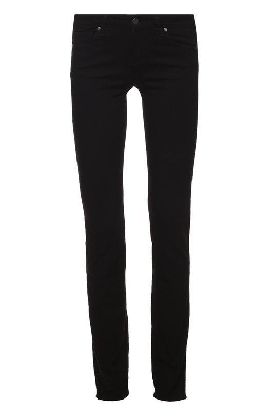 Купить Облегающие джинсы прямого кроя Paige, 1139521-2139, США, Черный, Вискоза: 54%; Хлопок: 23%; Полиэстер: 22%; Эластан: 1%;