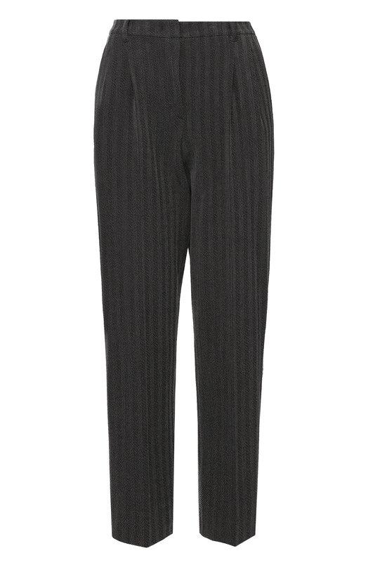 Укороченные брюки прямого кроя с защипами Armani Collezioni UMP21T/UM106