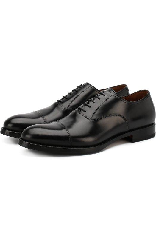 Классические кожаные оксфорды W.GibbsТуфли<br>Черные оксфорды с зауженным мысом и низким широким каблуком вошли в коллекцию сезона осень-зима 2016 года. Туфли сшиты мастерами бренда из гладкой мягкой кожи с матовым блеском. Процесс создания каждой пары обуви занимает более месяца и часть операций проводится вручную.<br><br>Российский размер RU: 42<br>Пол: Мужской<br>Возраст: Взрослый<br>Размер производителя vendor: 42-5<br>Материал: Кожа натуральная: 100%; Стелька-кожа: 100%; Подошва-кожа: 100%; Подошва-резина: 100%;<br>Цвет: Черный