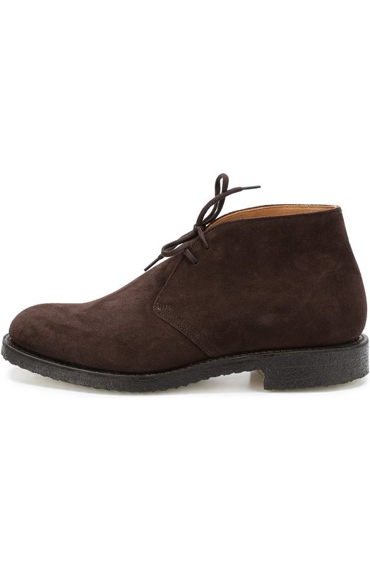 Замшевые ботинки с круглым мысом Church's RYDER