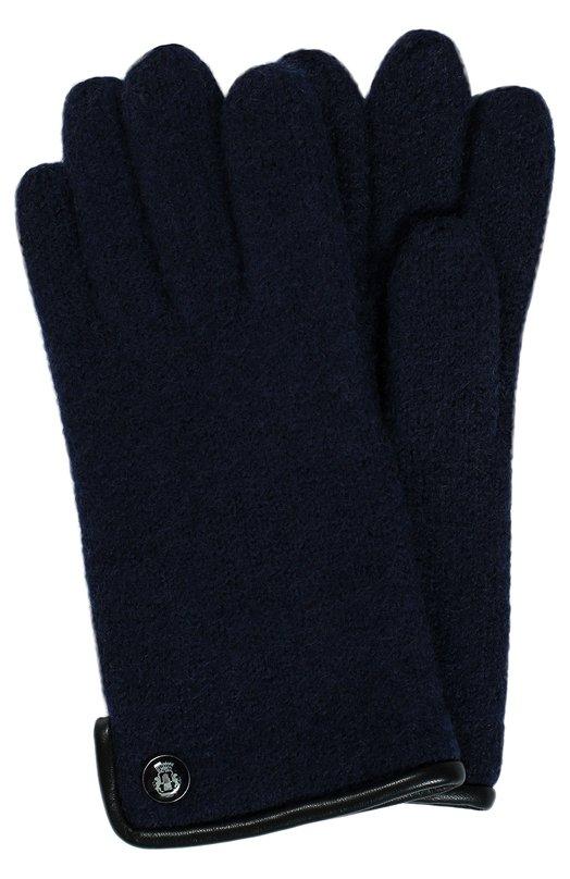 Вязаные шерстяные перчатки RoecklПерчатки<br><br><br>Российский размер RU: 28<br>Пол: Женский<br>Возраст: Детский<br>Размер производителя vendor: 4<br>Материал: Шерсть: 100%;<br>Цвет: Синий