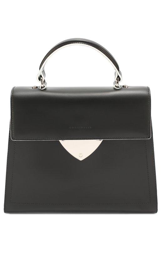 Сумка B14 CoccinelleЖенские сумки<br><br><br>Пол: Женский<br>Возраст: Взрослый<br>Размер производителя vendor: NS<br>Материал: Кожа натуральная: 100%;<br>Цвет: Черный