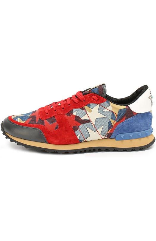 Комбинированные кроссовки Rockrunner Camustars Valentino LY2S0723/DNL