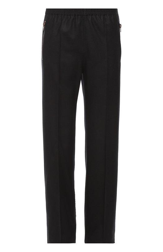 Шерстяные брюки свободного кроя Givenchy