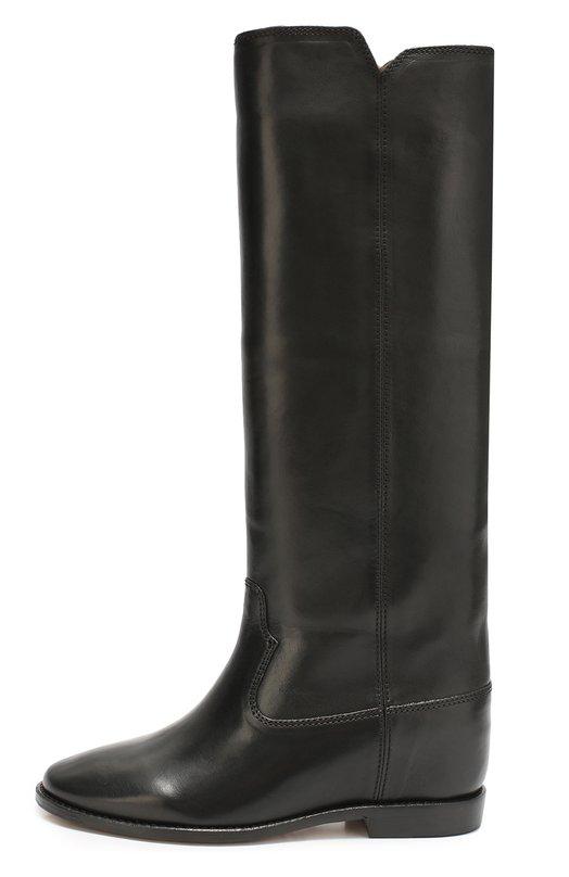 Кожаные сапоги с широким голенищем Isabel Marant Etoile 00M004S/CHESS