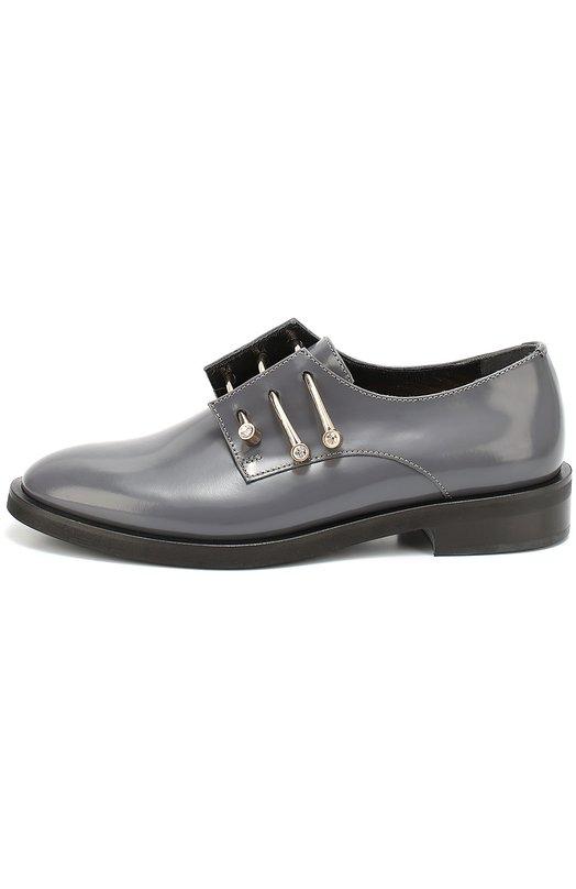 Кожаные ботинки Adele с декорированными булавками Coliac CC106/ADELE