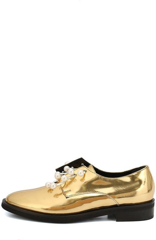 Кожаные ботинки Anello с декорированными полукольцами Coliac CC114/ANELL0
