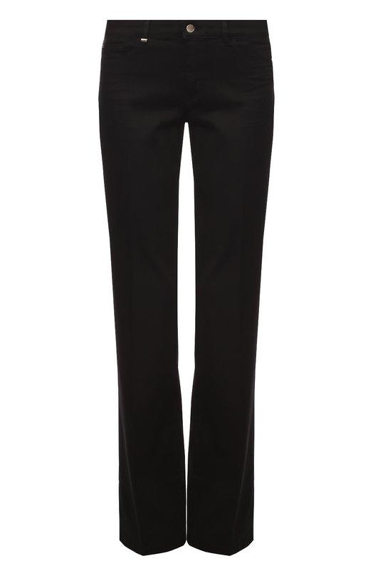 Расклешенные джинсы с контрастной декоративной отделкой HUGO 50321798