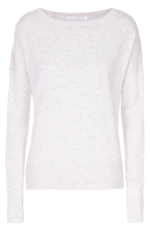 Шерстяной удлиненный пуловер свободного кроя HUGO 50323573