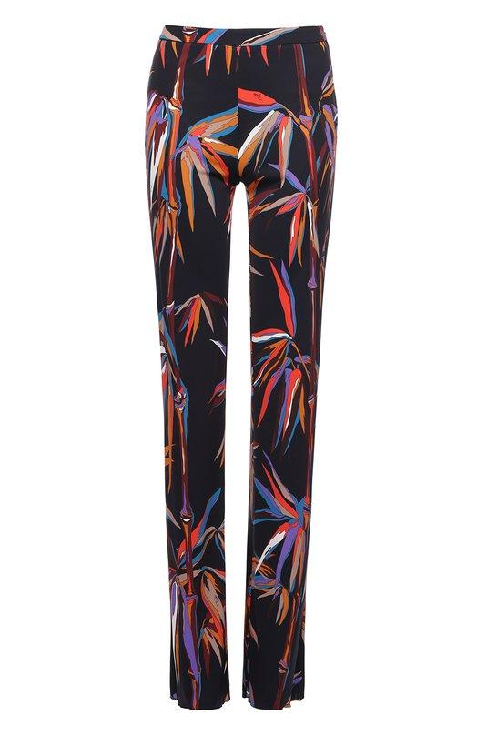 Расклешенные брюки с контрастным принтом Emilio Pucci 71/RT50/71735