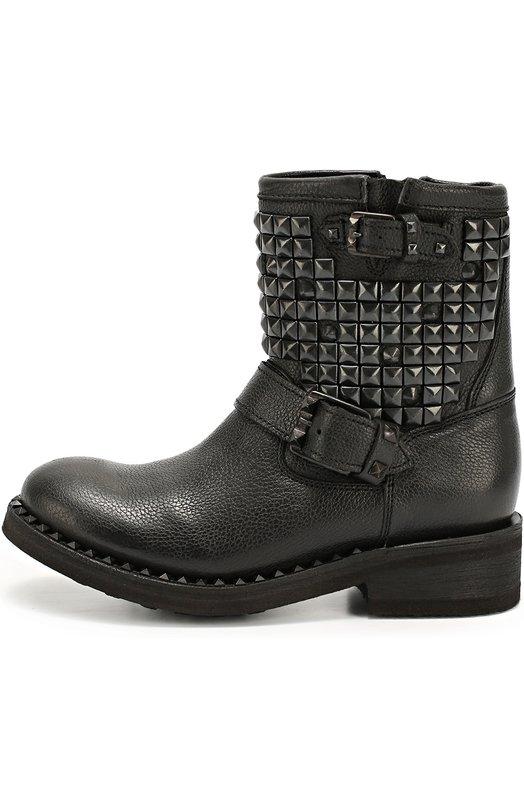 Кожаные ботинки с заклепками Ash 4AH.AH50092.K