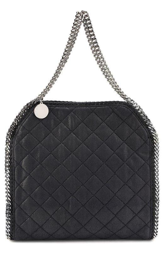 Стеганая сумка-тоут Falabella small из эко-кожи Stella McCartney 261063/W9477