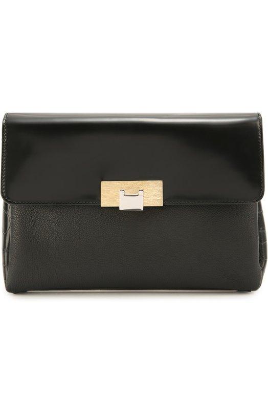 Сумка Le Dix Soft Courrier из комбинированной кожи Balenciaga 408992/DLF24