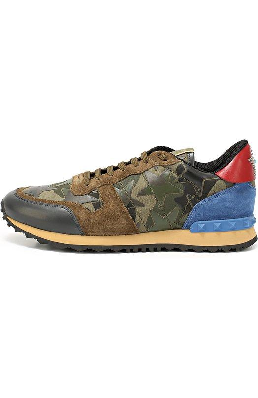 Комбинированные кроссовки Rockrunner Camustars Valentino LY2S0723/ANC