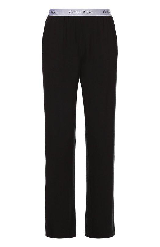 Хлопковые брюки на широкой резинке Calvin Klein 000NM1281E