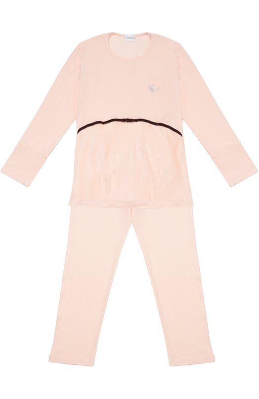 Пижама из эластичной вискозы La Perla 54491/2A-6A