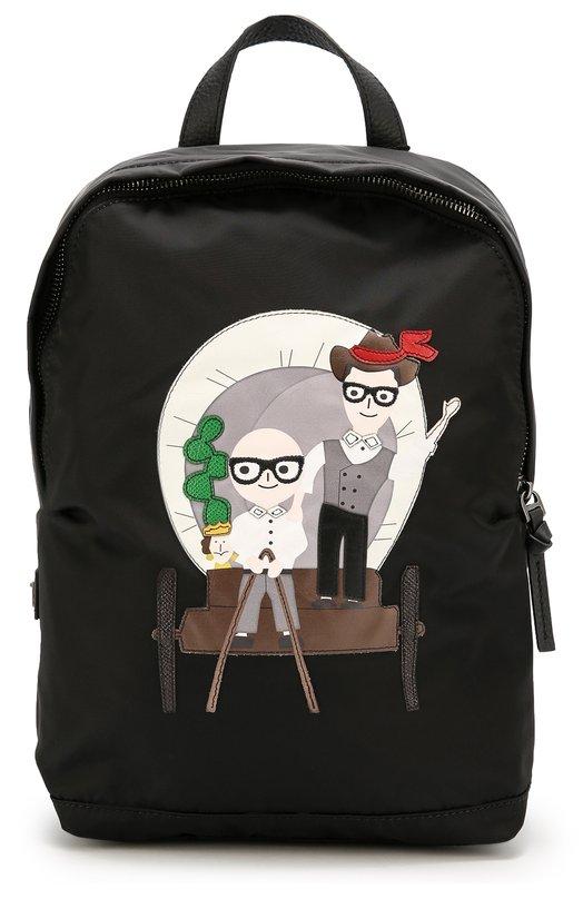 Рюкзак с принтом Family Dolce & Gabbana 0130/EM0041/AE391