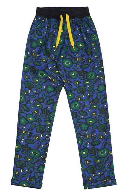 Спортивные брюки с принтом KenzoСпорт<br><br><br>Размер Years: 2<br>Пол: Женский<br>Возраст: Детский<br>Размер производителя vendor: 92-98cm<br>Материал: Хлопок: 95%; Эластан: 5%;<br>Цвет: Синий