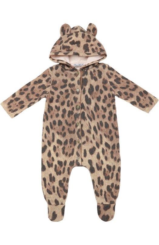 Комбинезон с принтом под леопарда Dolce & Gabbana 0131/L24K25/LK6G2
