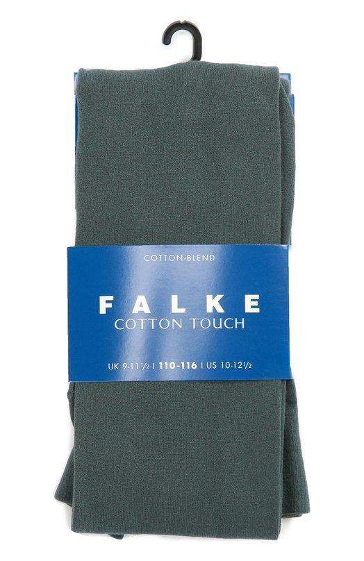 Колготки Cotton Touch FalkeКолготки и носки<br><br><br>Российский размер RU: 40<br>Пол: Женский<br>Возраст: Детский<br>Размер производителя vendor: 152-164<br>Материал: Хлопок: 65%; Полиамид: 33%; Эластан: 2%;<br>Цвет: Зеленый