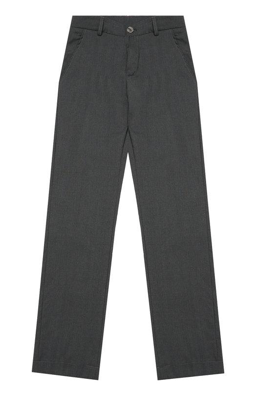Шерстяные брюки прямого кроя Aletta AMV666291W/9-16