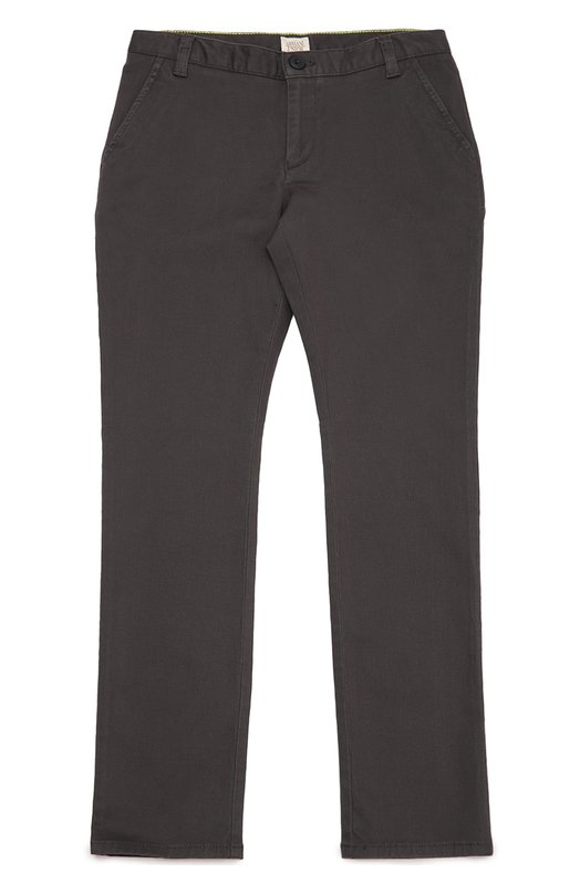 Хлопковые брюки прямого кроя Giorgio Armani 6X4P09/4NBNZ/11A-16A