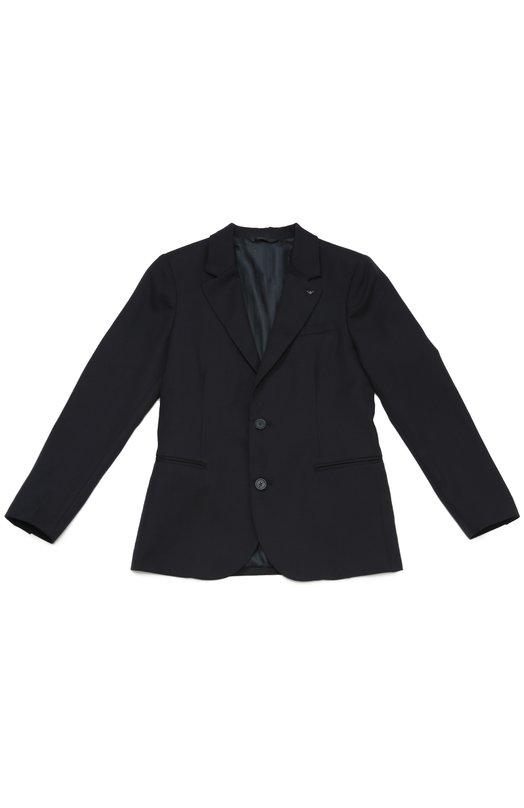 Шерстяной однобортный пиджак Giorgio Armani 8N4G11/4N05Z/11A-16A
