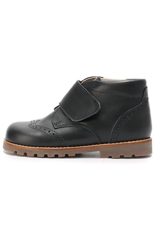 Кожаные ботинки с застежкой велькро Beberlis 219-W16-A/25-27