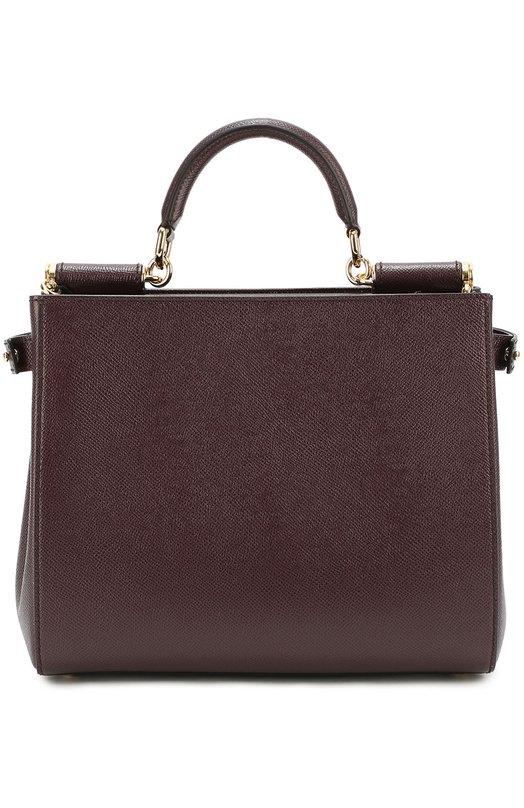 Сумка Sicily Dolce &amp; GabbanaЖенские сумки<br><br><br>Пол: Женский<br>Возраст: Взрослый<br>Размер производителя vendor: NS<br>Материал: Кожа натуральная: 100%;<br>Цвет: Фиолетовый