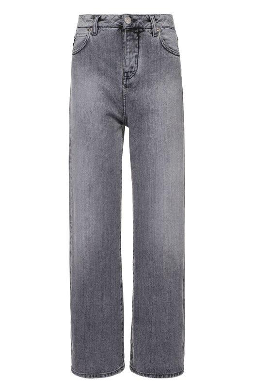 Укороченные широкие джинсы с завышенной талией Two Women In The WorldДжинсы<br><br><br>Российский размер RU: 48<br>Пол: Женский<br>Возраст: Взрослый<br>Размер производителя vendor: 30<br>Материал: Хлопок: 100%;<br>Цвет: Серый