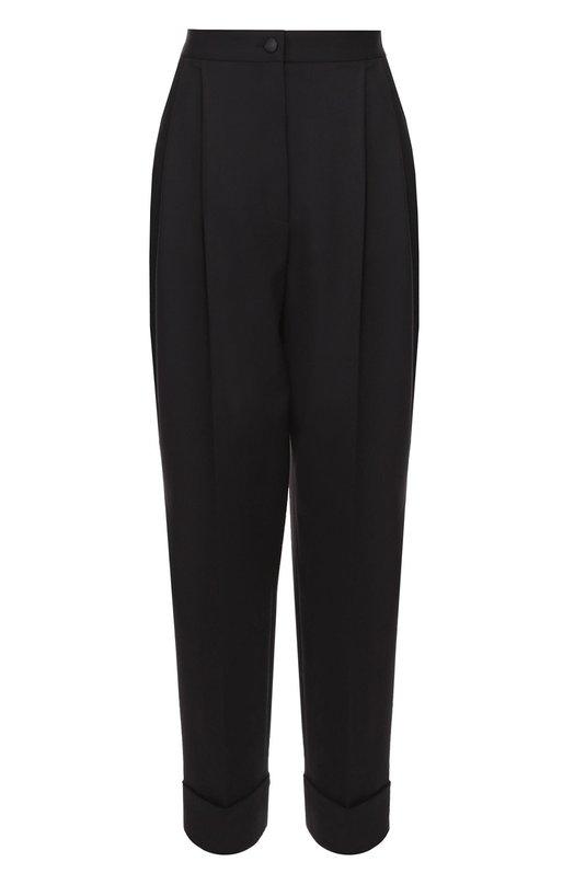 Укороченные шерстяные брюки-бананы Dolce & Gabbana 0102/FTANKT/FUCCS