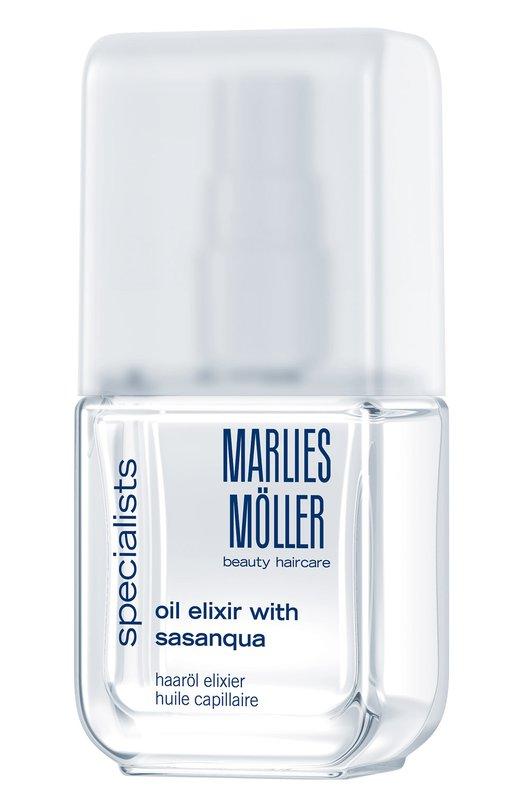 Купить Эликсир для волос на основе масла горной камелии Marlies Moller, 21027MM, Германия, Бесцветный