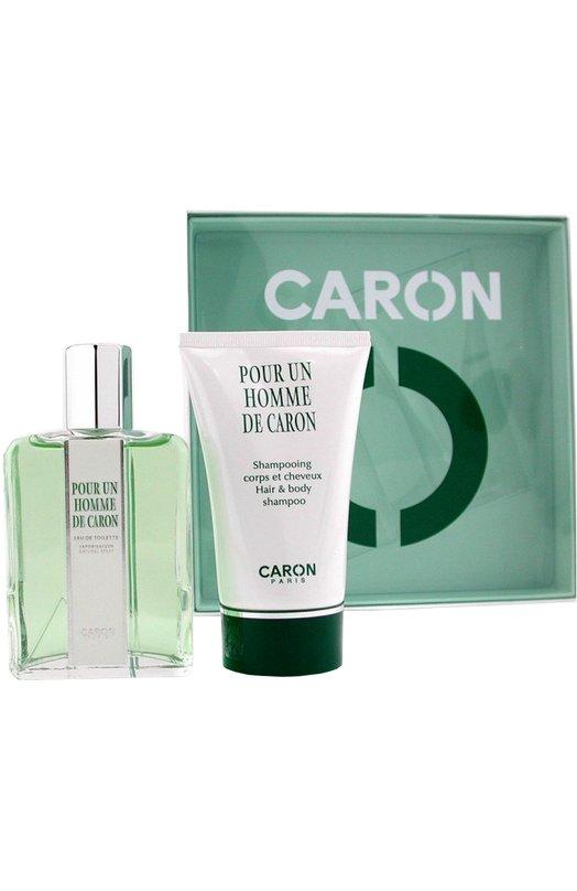Набор Pour Un Homme: Туалетная вода + Шампунь Caron Q2099101
