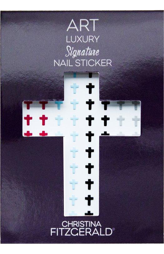 """Наклейка для ногтей """"Крестик"""" Christina Fitzgerald 9333381003461"""