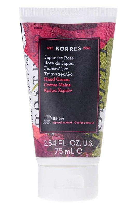 Увлажняющий крем для рук Японская Роза Korres 5203069063633