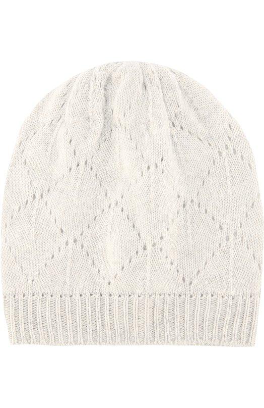 Вязаная шапка из кашемира Johnstons Of Elgin HAY01957