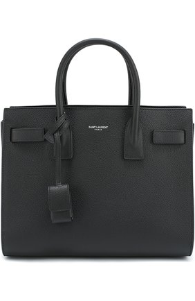 Сумка Sac De Jour Baby Saint Laurent чёрная | Фото №1