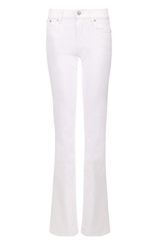 Купить Расклешенные джинсы с карманами Polo Ralph Lauren, V60/XZ2MH/XY2MH, Тунис, Белый, Хлопок: 98%; Эластан: 2%;