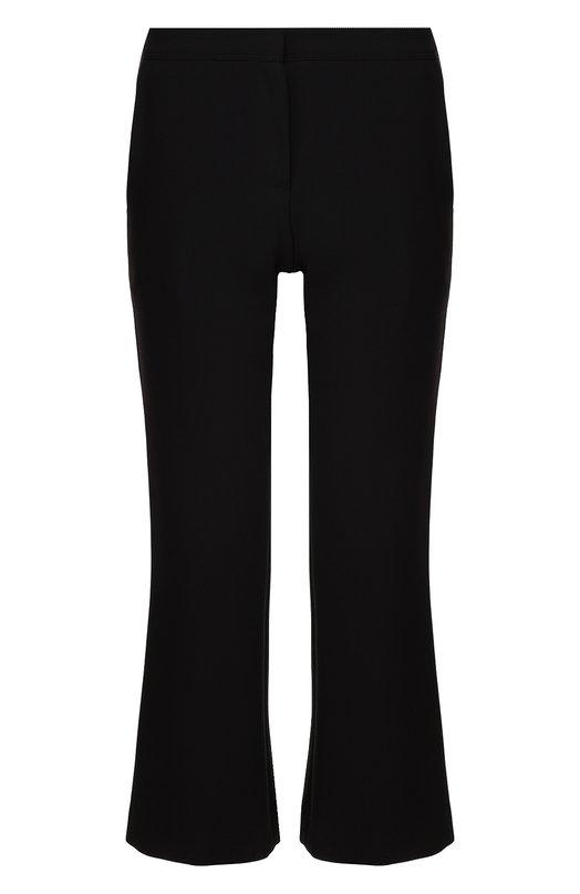 Укороченные расклешенные брюки с карманами Burberry 4042716