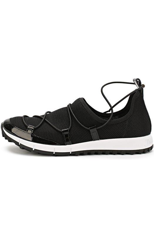Купить Комбинированные кроссовки Andrea на шнуровке Jimmy Choo Италия 5119831 ANDREA/FMM
