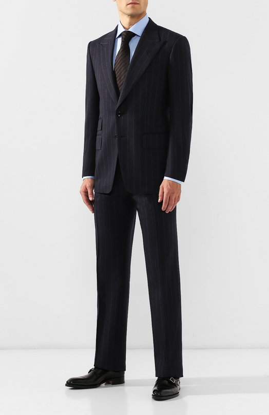 Шерстяной приталенный костюм Tom Ford 822R7621QL4R