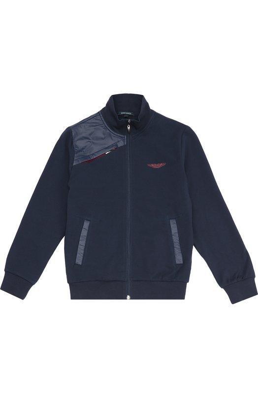 Куртка с нашивками Aston MartinВерхняя одежда<br><br><br>Размер Years: 10<br>Пол: Мужской<br>Возраст: Детский<br>Размер производителя vendor: 138-148cm<br>Материал: Полиэстер: 100%<br>Цвет: Голубой