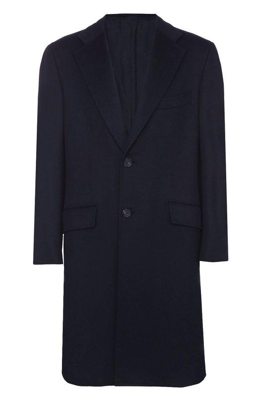 Кашемировое однобортное пальто Brioni R0F1/04326