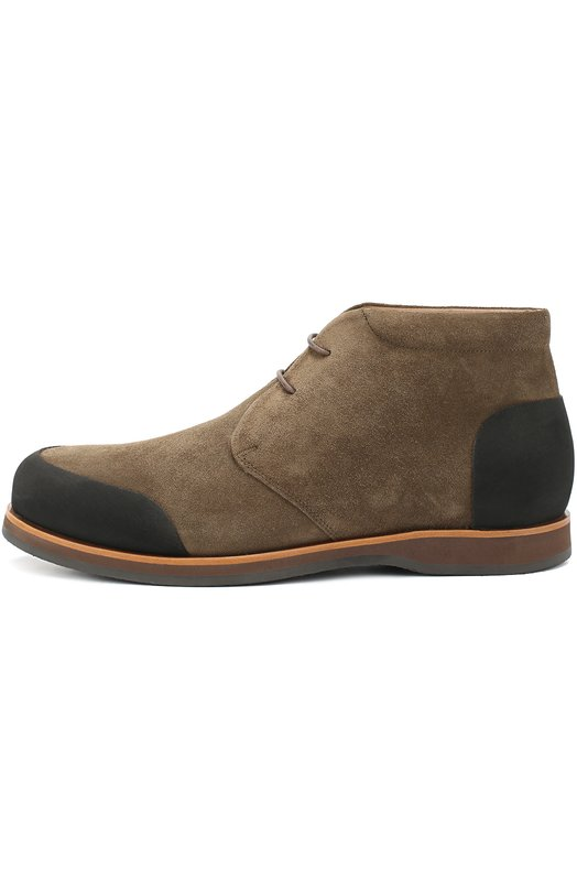 Замшевые ботинки с внутренней меховой отделкой Zonkey Boot ZB036/SUEDE/PICASS0