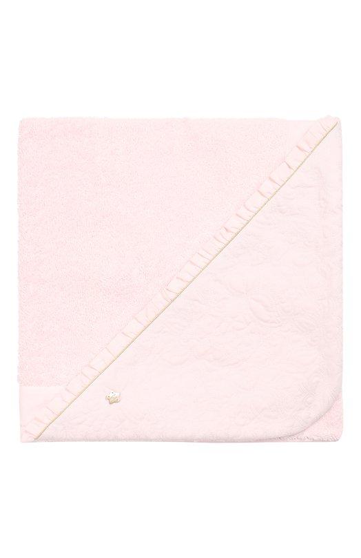 Полотенце из хлопка Tartine Et ChocolatПляжные принадлежности<br><br><br>Пол: Женский<br>Возраст: Детский<br>Размер производителя vendor: NS<br>Материал: Хлопок: 100%;<br>Цвет: Розовый