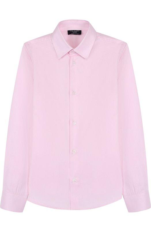 Хлопковая рубашка с воротником кент Dal Lago N402/1165/7-12